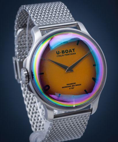 Zegarek męski U-BOAT Rainbow 44 Orange SS