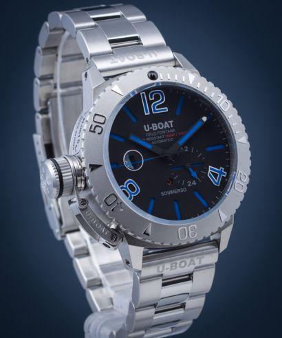 Zegarek męski U-BOAT Sommerso Blue Metal