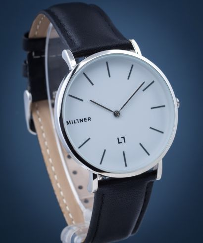 Zegarek Millner Hallfield Silver Black