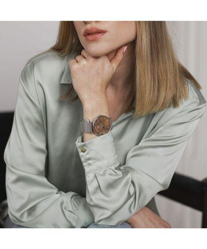 Zegarek Plantwear Blend Czeczota Silver