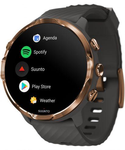 Zegarek smartwatch Suunto 7 Graphite Copper Wrist HR GPS