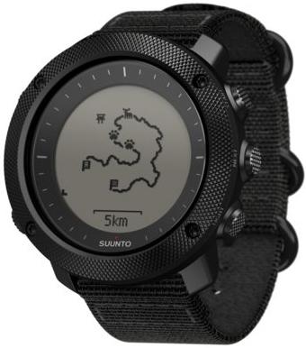 Smartwatch Suunto Traverse Alpha Stealth SS022469000 idealny do aktywności w terenie