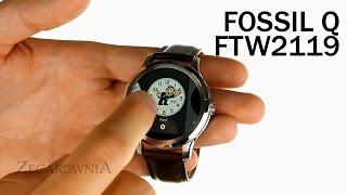 Zegarownia.pl FOSSIL Q SMARTWATCH FOUNDER MĘSKI przegląd funkcji Kod produktu: FTW2119