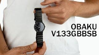 Zegarownia.pl OBAKU DENMARK CLASSIC MĘSKI Kod produktu: V133GBBSB