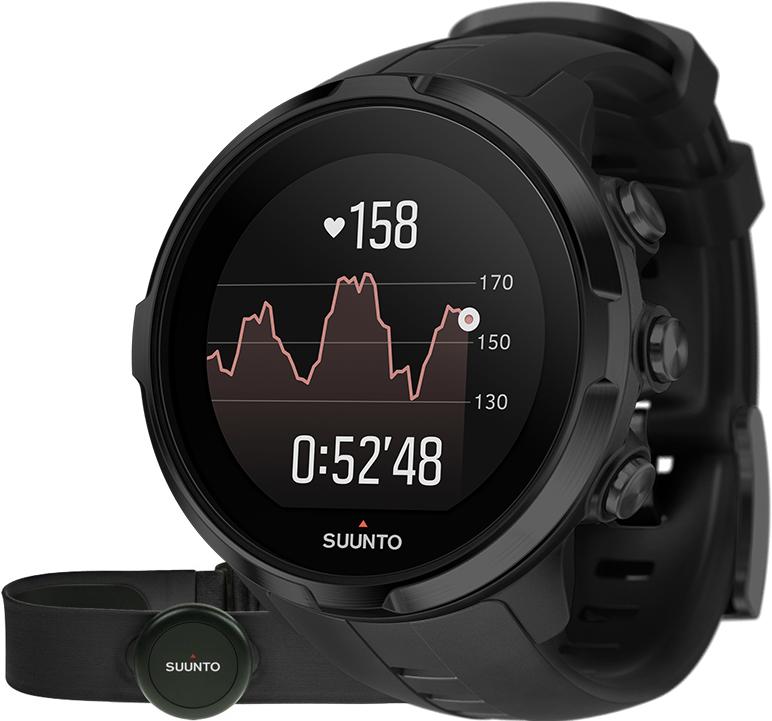 Suunto Spartan Sport Wrist HR All Black + Belt SS023364000