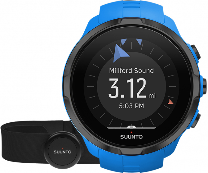 Suunto Spartan Sport Wrist HR Blue + Belt SS023365000