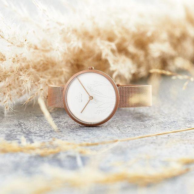 Zegarek damski Obaku Hassel Natur Rose