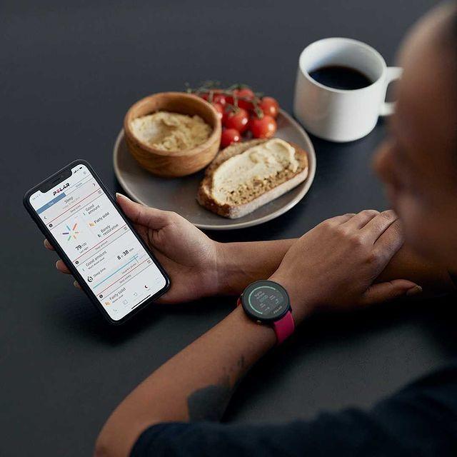 Zegarek damski Polar Unite różowy