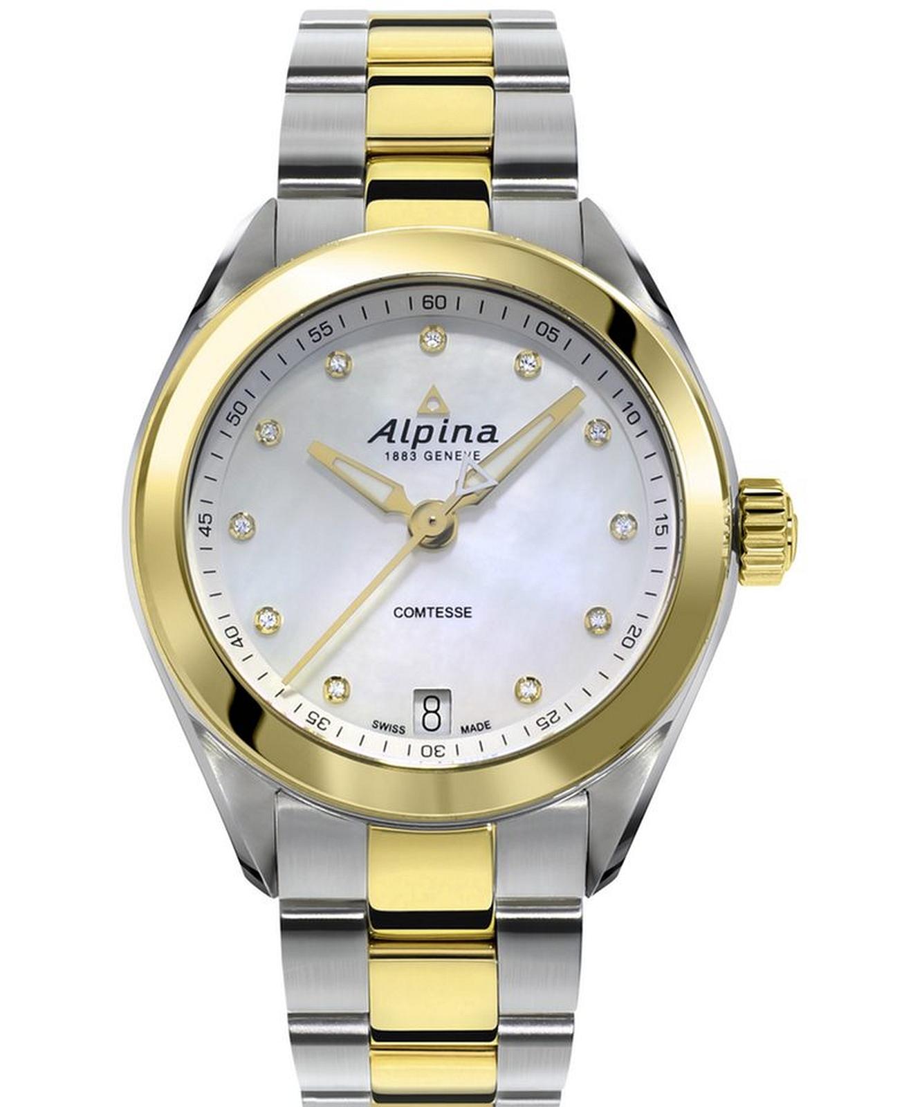 Zegarek damski Alpina Comtesse AL-AL-240MPWD2C3B