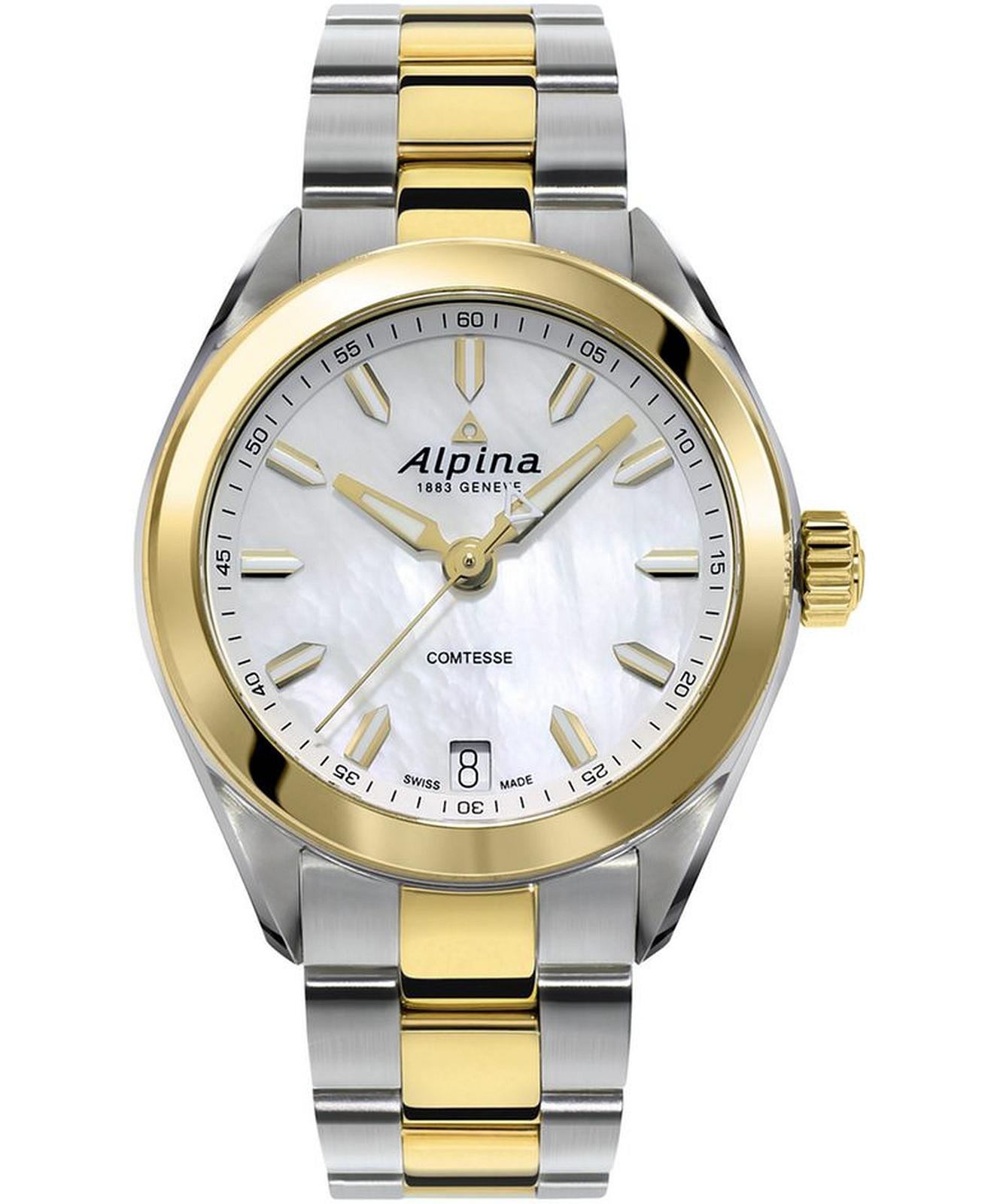 Zegarek damski Alpina Comtesse AL-240MPW2C3B