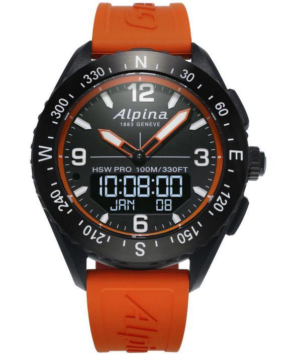 Zegarek męski Alpina AlpinerX Hybrid Smartwatch AL-283LBO5AQ6
