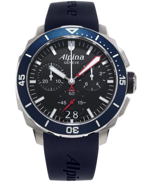 Zegarek męski Alpina Seastrong Diver 300 Chronograph AL-372LBN4V6