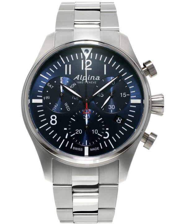 Zegarek męski Alpina Startimer Pilot Chronograph AL-371NN4S6B