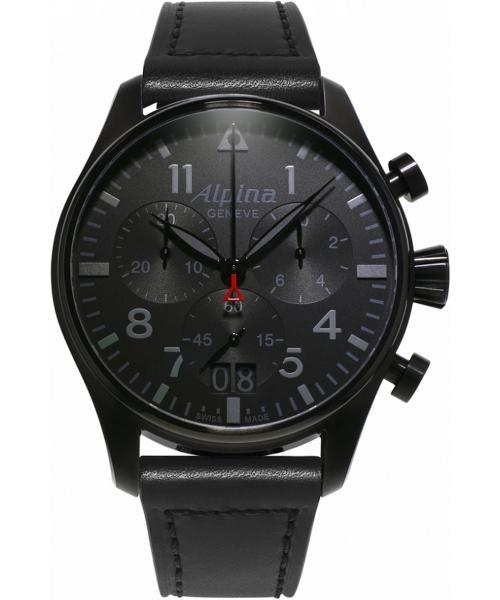 Zegarek męski Alpina Startimer Pilot Shadow Line Chronograph AL-372BB4FBS6