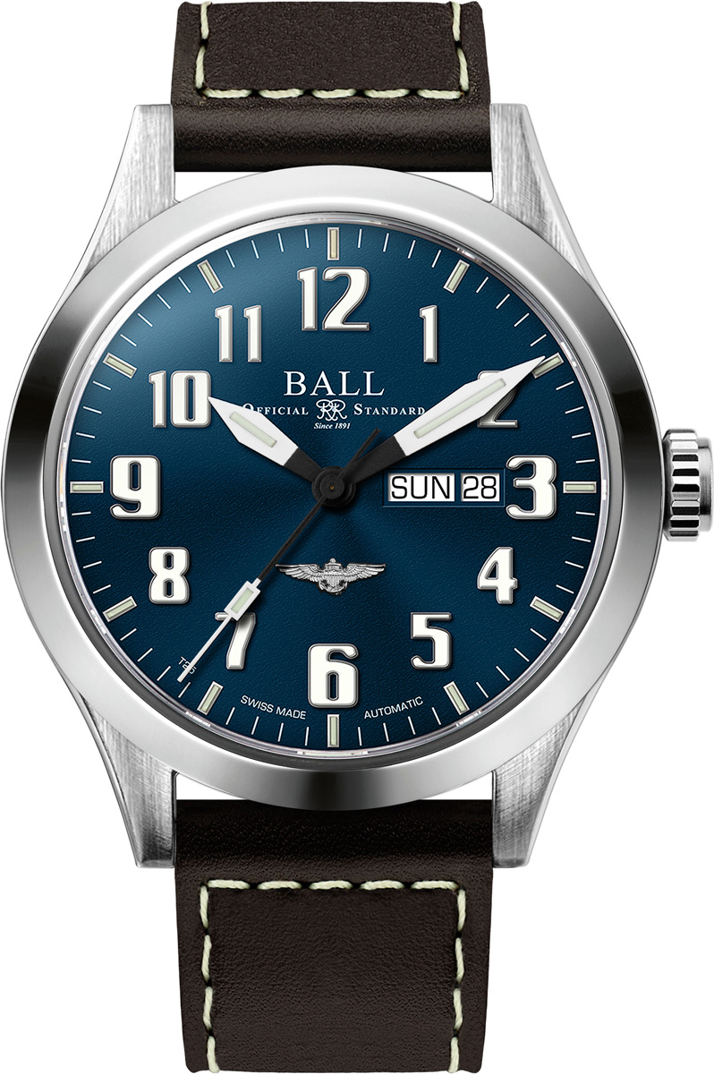 Ball Engineer III Silver Star NM2180C-L2J-BE