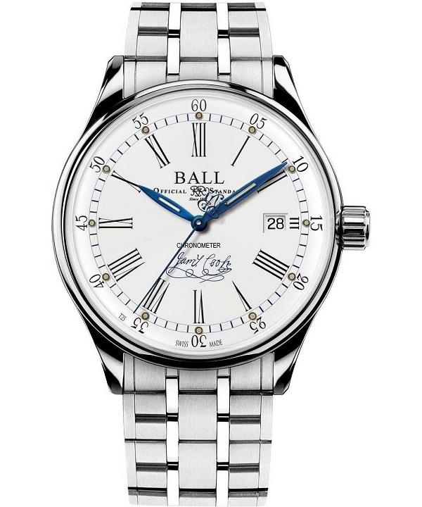 Zegarek męski Ball Trainmaster Endeavour Chronometer Limited Edition