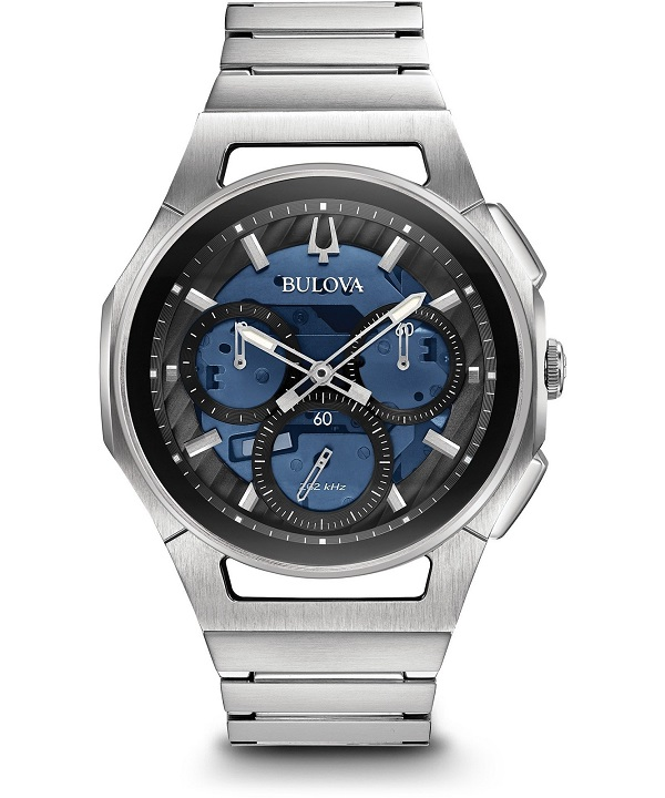 zegarek meski bulova curv chronograph 96a205