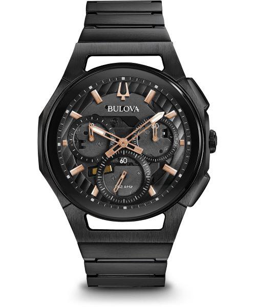 zegarek meski bulova curv chronograph 98a207