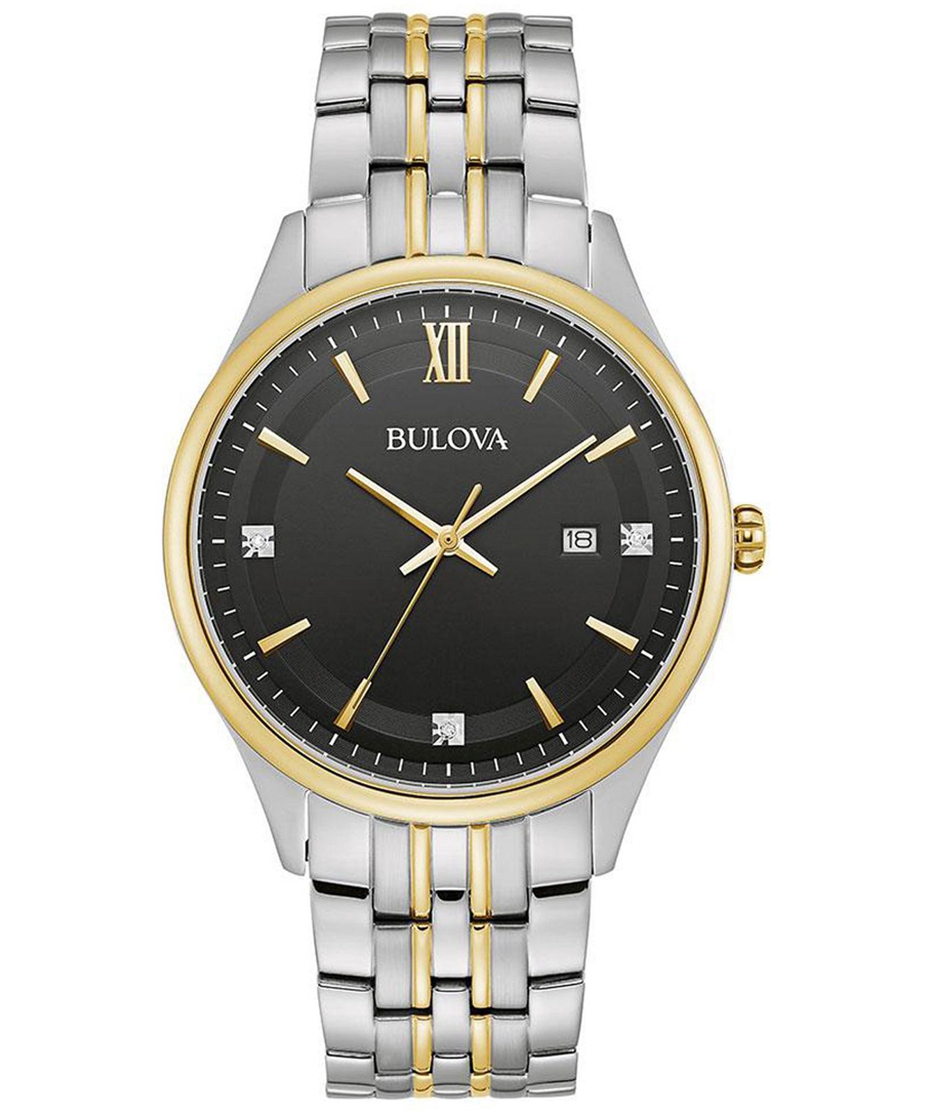 zegarek meski bulova diamond