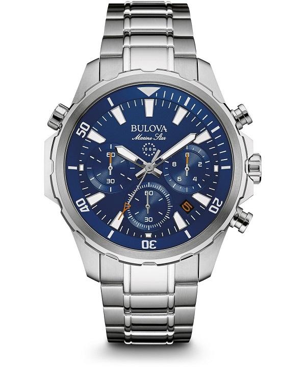 zegarek meski bulova marine star chronograph 96b256