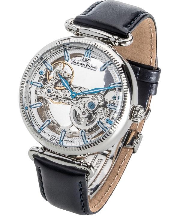 Zegarek męski Carl von Zeyten Elzach Skeleton Automatic CVZ0031WH