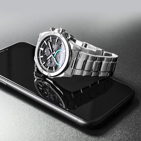 Zegarek męski Edifice Premium Super Slim Bluetooth Tough Solar