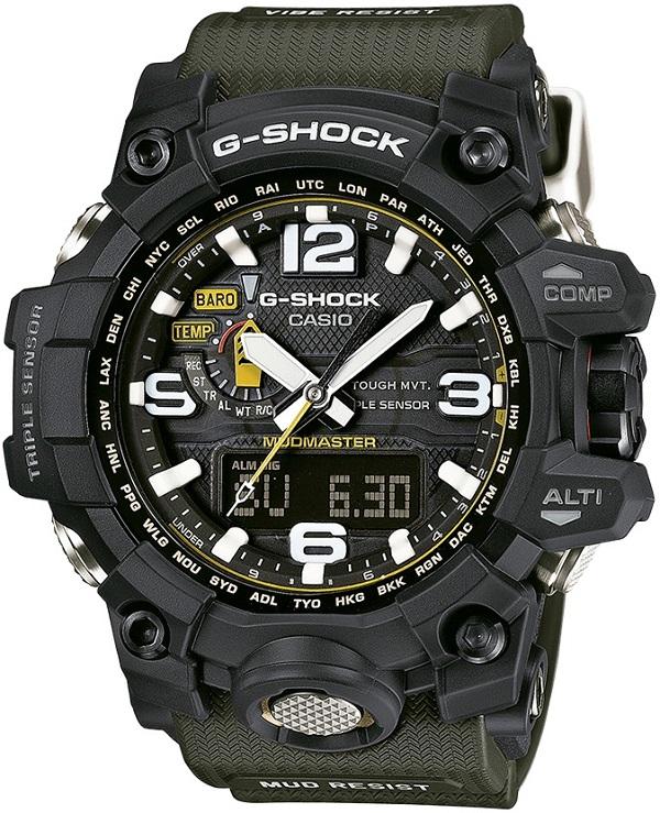 zegarek G-Shock Mudmaster gwg-1000-1a3er