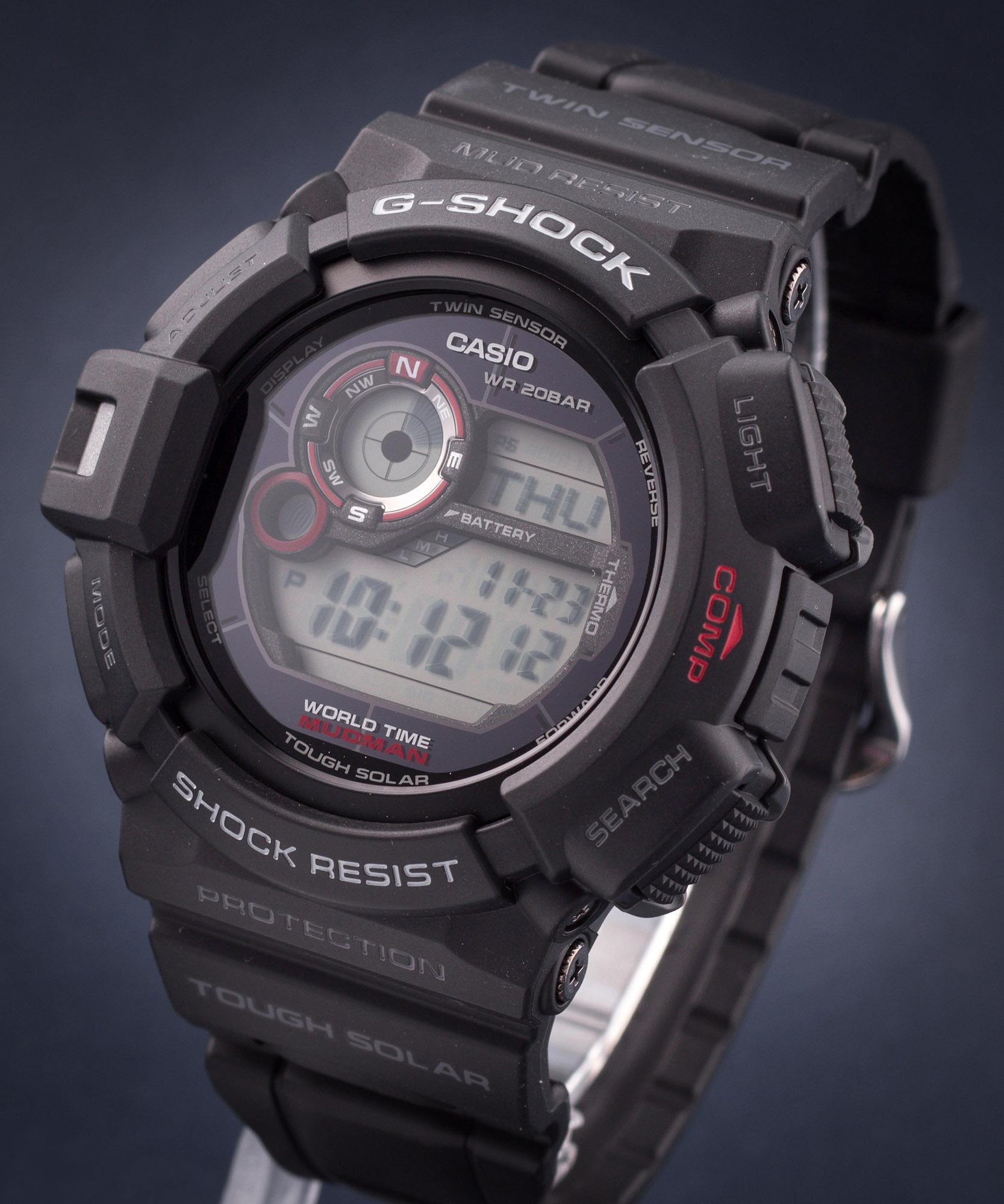 Zegarek Męski Casio G-Shock Mudman G-9300-1ER • Zegarownia.pl 37f74a0c8bd9