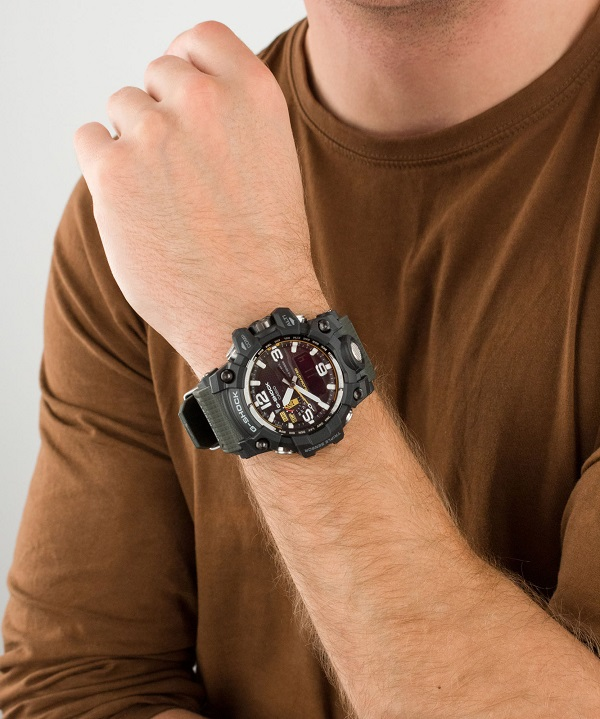 zegarek męski Casio G-Shock Mudmaster gwg-1000-1a3er ręka
