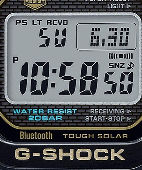 Zegarek Casio G-SHOCK G-STEEL The Origin Bluetooth Sync Radio Solar Titanium Limited GMW-B5000TB-1ER