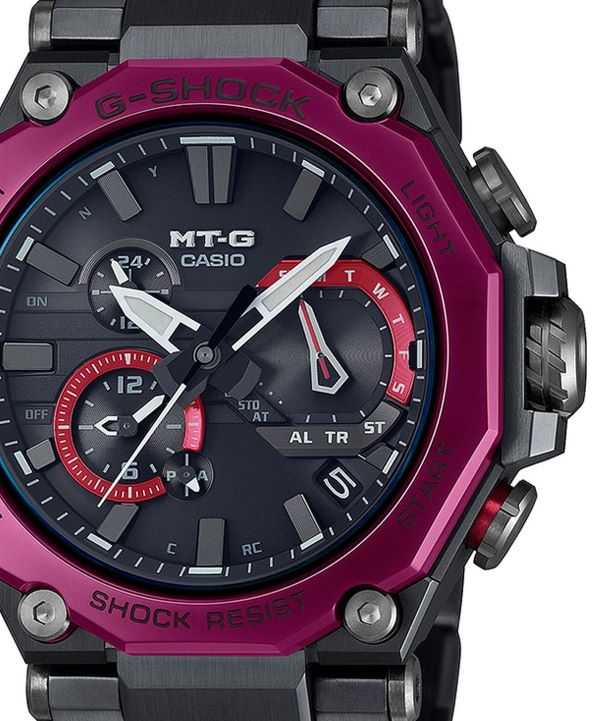 Zegarek męski G-SHOCK MT-G Dual Core Guard Bluetooth Solar
