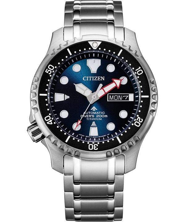 Zegarek męski Citizen Promaster Diver's Super Titanium Automatic