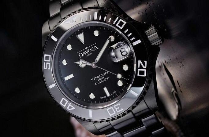 Zegarek męski Davosa Ternos Ceramic