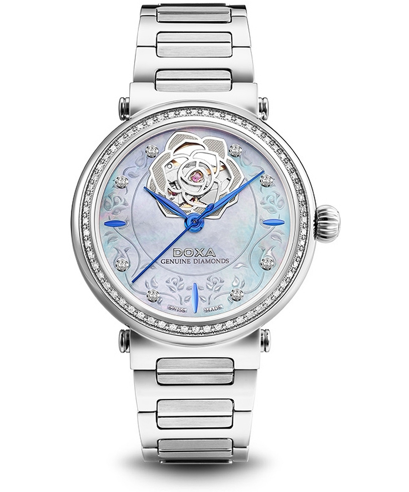 zegarek-damski-doxa-calex-new-lady-genuine-diamonds-automatic-limited-edition-d214sbu