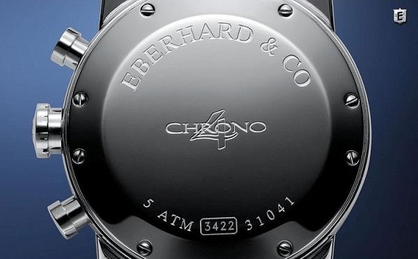 Zegarek męski Eberhard Chrono 4 mechanizm EB 200