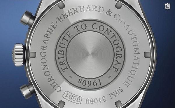 Zegarek męski Eberhard Chrono 4 mechanizm EB 8147