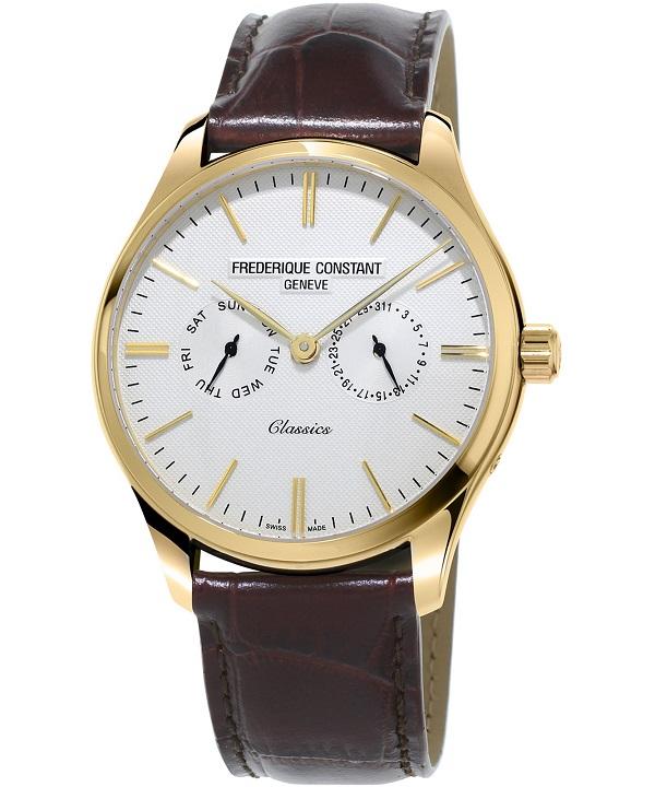Zegarek męski Frederique Constant Classics Quartz FC-259ST5B5