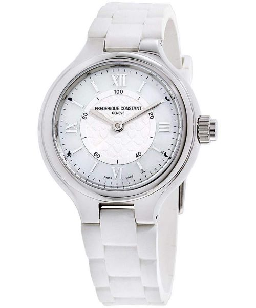 Zegarek damski Frederique Constant Horological Smartwatch FC-281WH3ER6