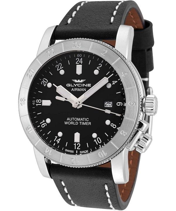 Zegarek męski Glycine Airman World Timer Automatic GL0137