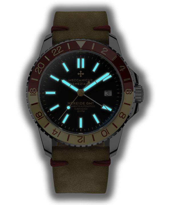 Zegarek męski Meccaniche Veneziane Nereide GMT