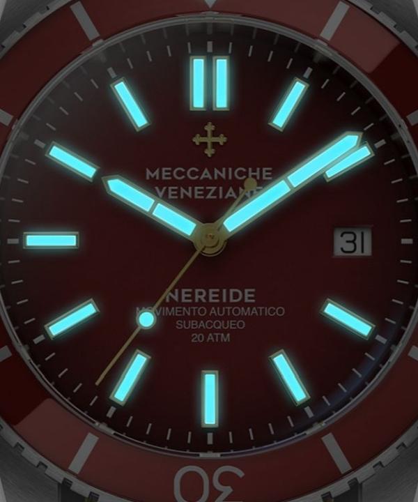 Zegarek męski Meccaniche Veneziane Nereide 4.0 Automatic zbliżenie