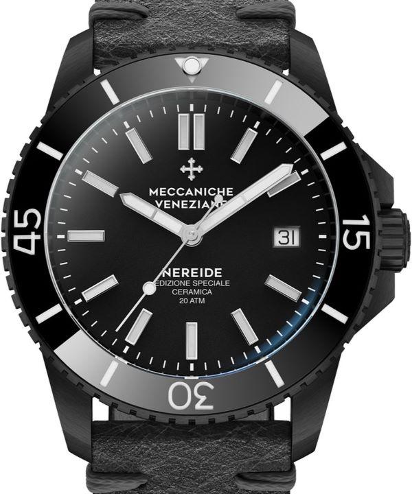 Zegarek męski Meccaniche Veneziane Nereide Ceramic Limited Edition zbliżenie
