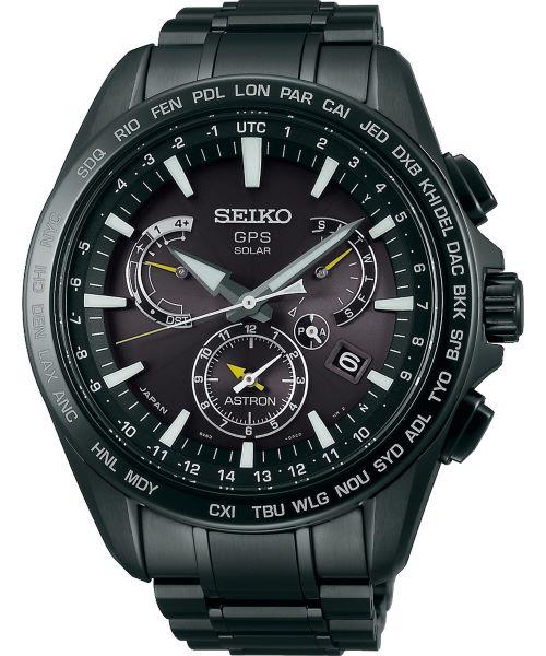 Zegarek męski Seiko Astron 8X Series GPS Solar Perpetual Calendar SSE079J1