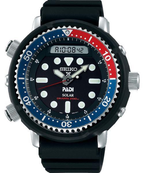 Zegarek męski Seiko Prospex Arnie PADI Diver Solar SNJ027P1