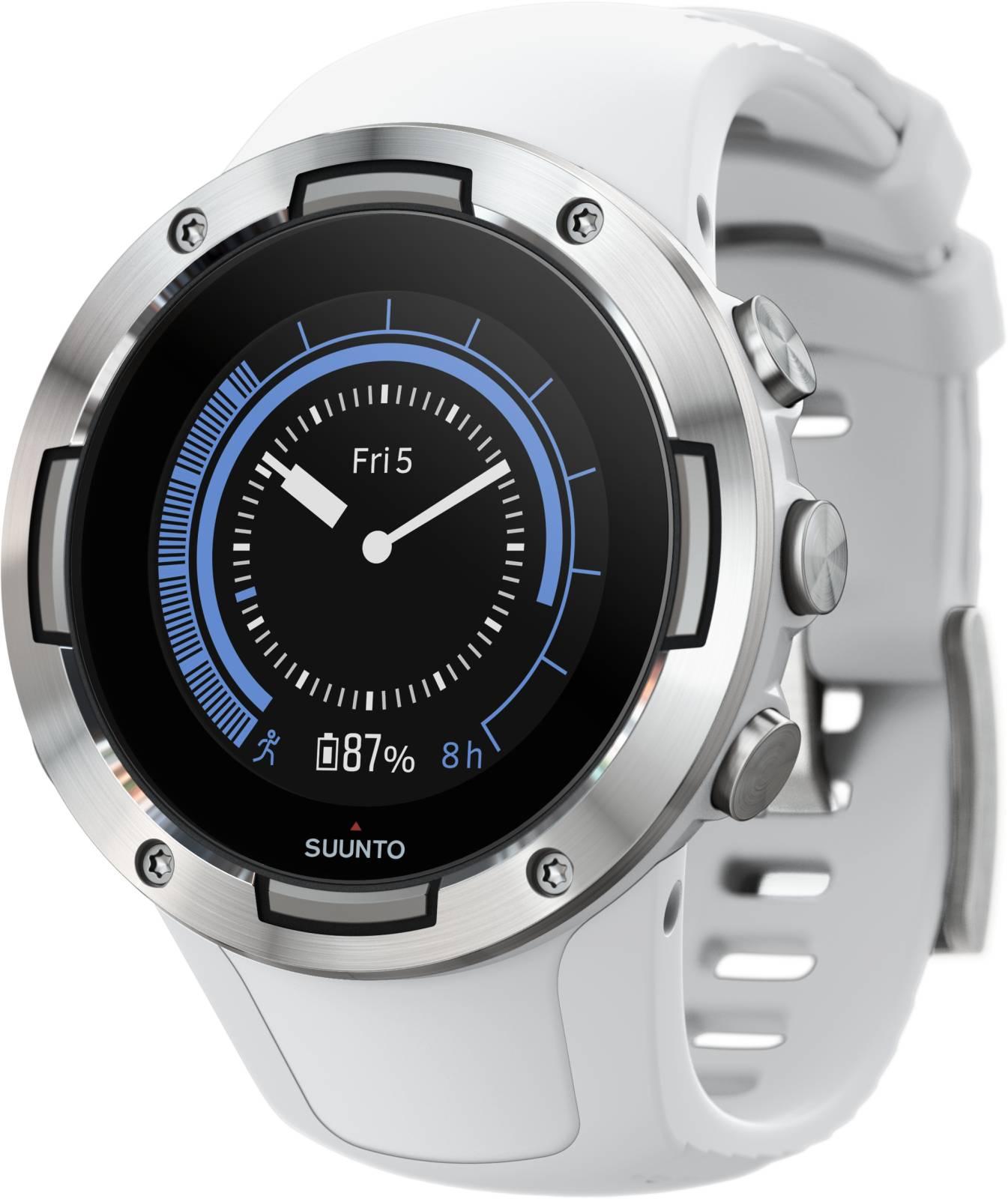 Suunto 5 White zegarek sportowy