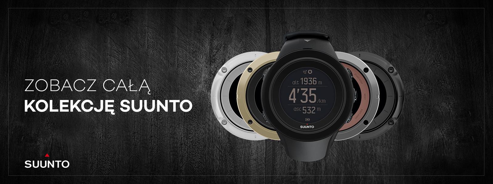 Kolekcja zegarków Suunto