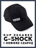 Zegarki G-Shock z czapką gratis