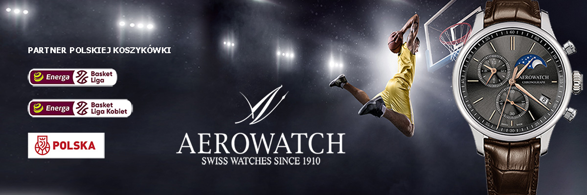Zegarki Aerowatch sponsorem PLK