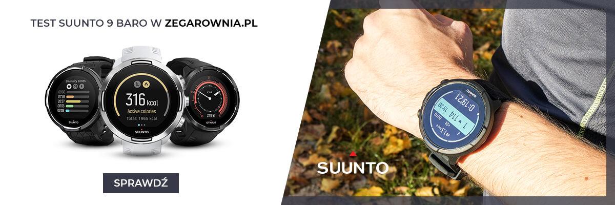 Test zegarka Suunto 9 Baro Black Titanium