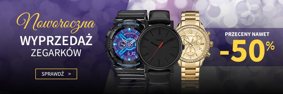 Wyprzedaż noworoczna zegarków